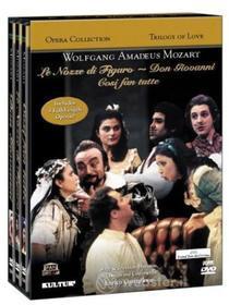 Wolfgang Amadeus Mozart - Trilogy Of Love (3 Dvd)