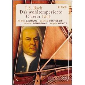 Johann Sebastian Bach. Il clavicembalo ben temperato (2 Dvd)