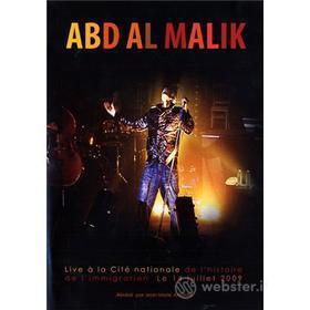 Abd Al Malik - Live A' La Cite' National