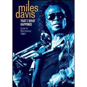Miles Davis. That's What Happened. Live in Germany 1987