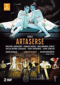 Leonardo Vinci. Artaserse (2 Dvd)