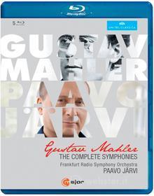 Gustav Mahler. Sinfonie (integrale): Sinfonie Nn.1-9, Sinfonia N.10 (5 Blu-ray)