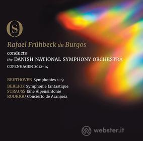 Ludwig Van Beethoven - The Symphonies - Burgos/Danish National So (3 Blu-Ray) (Blu-ray)