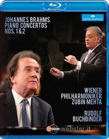 Johannes Brahms. Concerto Per Pianoforte N.1 Op.15, N.2 Op.83 (Blu-ray)