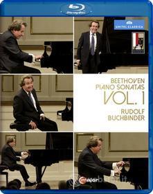 Ludwig van Beethoven. Piano Sonatas Vol. 1. Rudolf Buchbinder (Blu-ray)