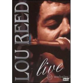 Lou Reed. Live