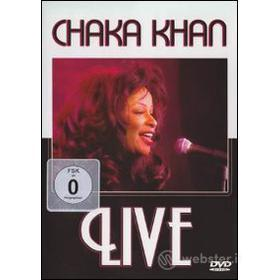 Chaka Khan. Live