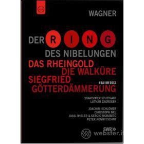 Richard Wagner. L'Anello del Nibelungo (4 Blu-ray)