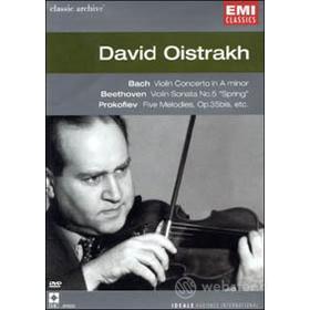 David Oistrakh. Bach, Beethoven, Prokofiev. Concerti per violino
