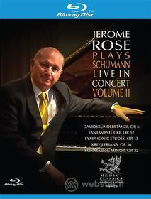 Jerome Rose - Plays Schumann Live in Concert (Blu-ray)