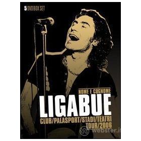 Ligabue. Nome e cognome tour 2006 (5 Dvd)