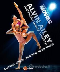 Alvin Ailey American Dance Theatre: Chroma, Grace, Takademie, Revelations (Blu-ray)