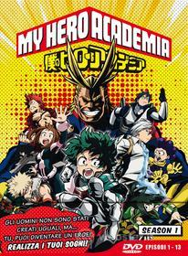 My Hero Academia - Stagione 01 (Eps 01-13) (Ltd Edition) (3 Dvd)