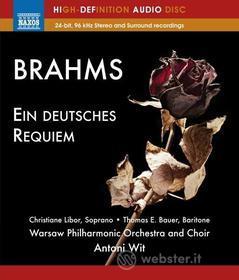 Johannes Brahms - Ein Deutsches Requem (Blu-Ray Audio) (Blu-ray)