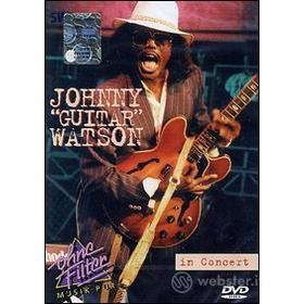 """Johnny """"Guitar"""" Watson. In Concert. Ohne Filter"""