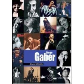 Giorgio Gaber. Gli anni novanta (2 Dvd)