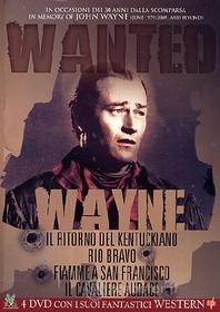 John Wayne. Wanted (Cofanetto 4 dvd)