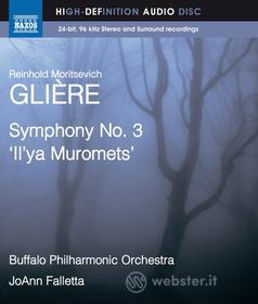 "Reinhold Gliere - Sinfonia N.3 ""iiy'a Murometz"" - Falletta Joann Dir /buffalo Philharmonic Orchestra (Blu-ray)"