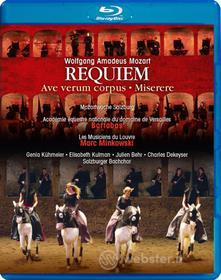 Wolfgang Amadeus Mozart - Requiem K 626, Ave Verum Corpus, Miserere - Bartabas (Blu-ray)