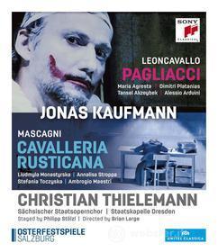 Jonas Kaufmann. Mascagni: Cavalleria rusticana. Leoncavallo: Pagliacci (Blu-ray)