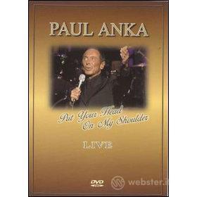 Paul Anka. Put Your Head on My Shoulder. Live
