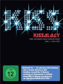 Kiss - Kissology Vol.1 1974 1977 (3 Dvd)