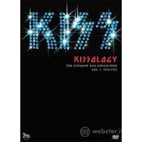 Kiss. Kissology. Vol. 1. 1974-1977 (Edizione Speciale 3 dvd)