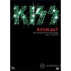 Kiss. Kissology. Vol. 1. 1974-1977 (3 Dvd)