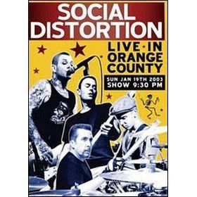 Social Distortion. Live in Orange County