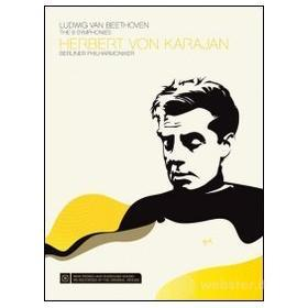Herbert Von Karajan. Beethoven. The 9 Symphonies (3 Dvd)