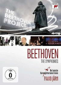 Paavo Jarvi. The Beethoven Project. The Symphonies 1-9 (4 Dvd)