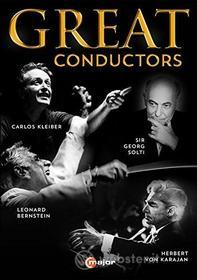 Great Conductors (4 Dvd)