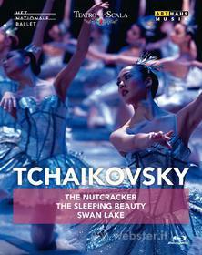 Pyotr Ilyich Tchaikovsky - Nutcracker, Sleeping Beauty, Swan Lake (3 Blu-Ray) (Blu-ray)