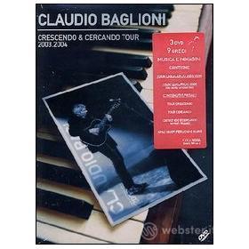 Claudio Baglioni. Crescendo e cercando (3 Dvd)