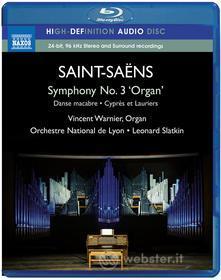 Camille Saint-Saens - Opere Orchestrali - Slatkin Leonard Dir (Blu-ray)
