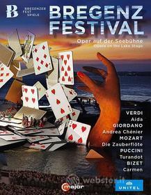Bregenzer Festspiele (5 Blu-Ray) (Blu-ray)