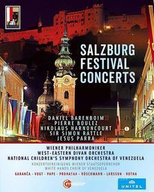 Salzburg Festival Concerts: Ravel, Stravinsky, Schubert, Webern, Strauss, Beethoven (6 Blu-ray)