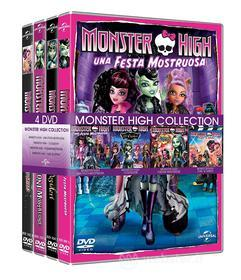 Monster High Collection (4 Dvd)