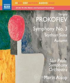 Sergei Prokofiev - Sinfonia N.3. Suite Sciita, Autunno (schizzo Sinfonico)  - Alsop Marin Dir (Blu-ray)