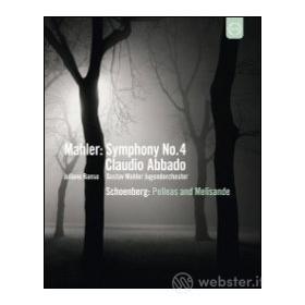 Gustav Mahler. Symphony No. 4 - Arnold Schoenberg. Pelleas und Melisande (Blu-ray)