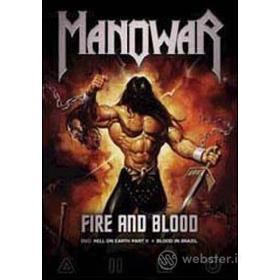 Manowar. Fire And Blood. Hell On Earth Part II + Blood In Brazil (2 Dvd)