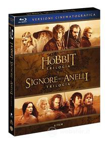Signore Degli Anelli / Hobbit - 6 Film Theatrical Version (6 Blu-Ray) (Blu-ray)