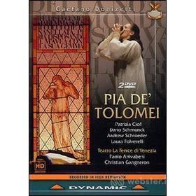 Gaetano Donizetti. Pia De' Tolomei (2 Dvd)