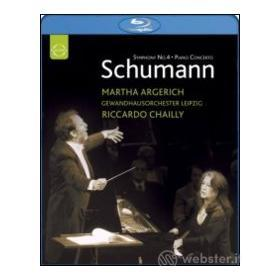 Robert Schumann. Piano Concerto & Symphony No. 4 (Blu-ray)