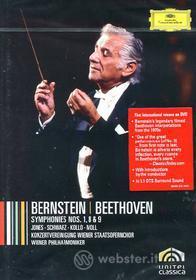 Leonard Bernstein. Beethoven: Symphonies 1, 8 & 9