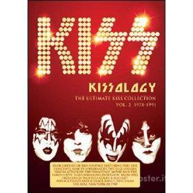 Kiss. Kissology. Vol. 2. 1978-1991 (4 Dvd)