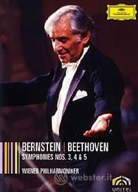 Leonard Bernstein. Beethoven: Symphonies 3, 4 & 5