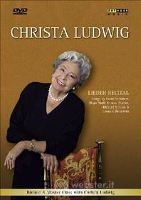 Christa Ludwig. Lieder Recital