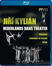 Jiri Kylian & The Nederlands Dans Theatre. Svadebka - Symphony of Psalms - Torso (Blu-ray)