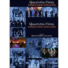 Quartetto Cetra. Antologia di canzoni, sketch e parodie (2 Dvd)